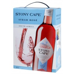 Sarkanvīns Stony Cape Syrah Rose 12  3L