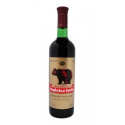 Vīns Bear Blood Red Semi Dry 11  0.75L