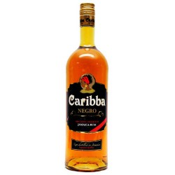 Rums Caribba Negro 37.5  1 L