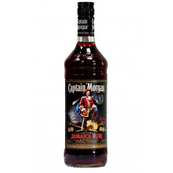 Rums Captain Morgan Black Label 40  1L