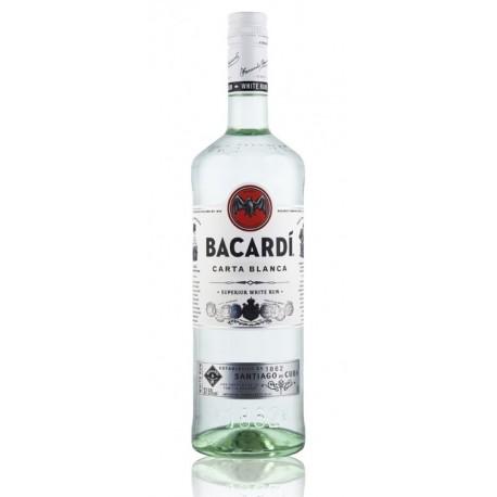 Rums Bacardi Carta Blanca 1L 37.5
