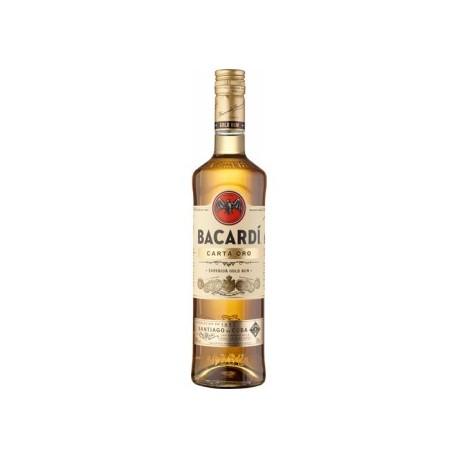 Rums Bacardi Carta ORO 1L 37.5