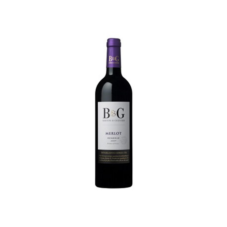 Vīns B G Merlot Reserva 13.5  0.75L