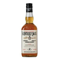 Viskijs Kentucky Jack Straight Burbon 40 0.7L