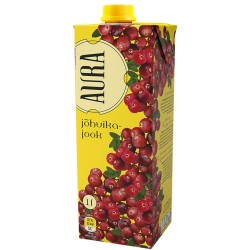 Aura Cranb.Juice 1L