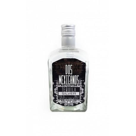 Tekila Dos Mexicanos Silver Tequila 38  0.7 L