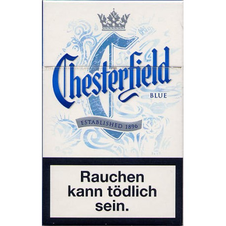 Cigaretres Chesterfield Blue 20gab.