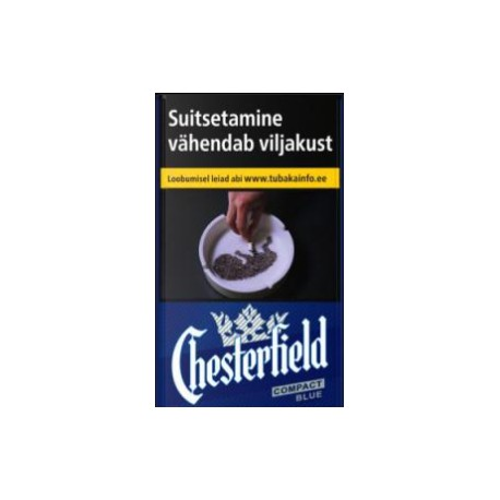 Cigaretes Chesterfield Compact Blue 20gab.