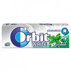 ORBIT White Spearmint Stickpack 10 gab