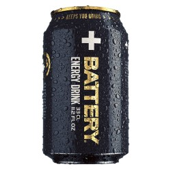 B.A.DZ Battery Black 0.33 L
