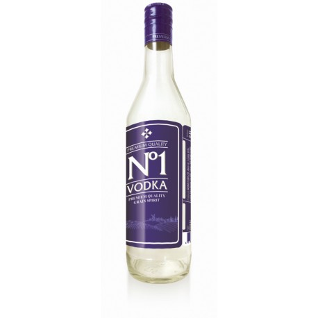 No. 1 Vodka 40% 50cl