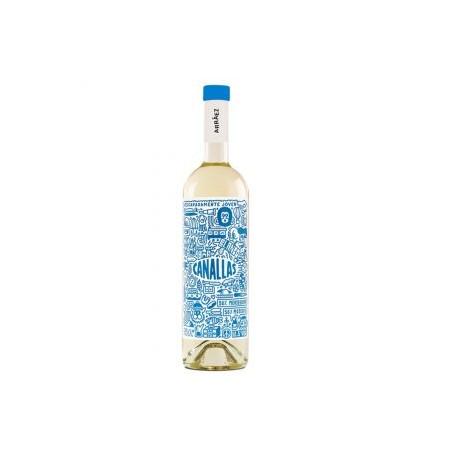 Vīns Canallas White 12.5% 0.75 L