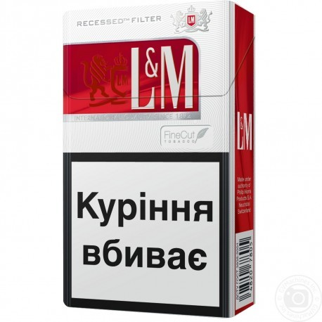 Cigaretes LM Red Label 1pac./20gb