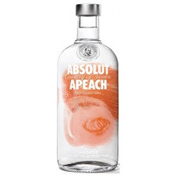 Degvīns Absolut Apeach 40  0.7 L