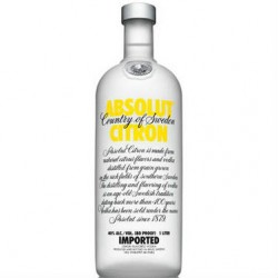 Absolut Citron 40% 70cl