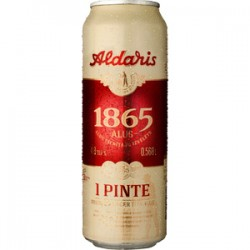 Aldaris 1865 4,8% 56,8cl CAN