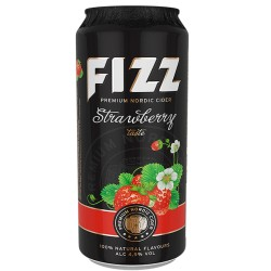 R.Dz.Fizz Strawberry 4.5  0.5L CAN