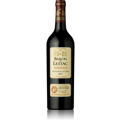 Baron De Lestac Rouge Bordeaux 13% 75cl