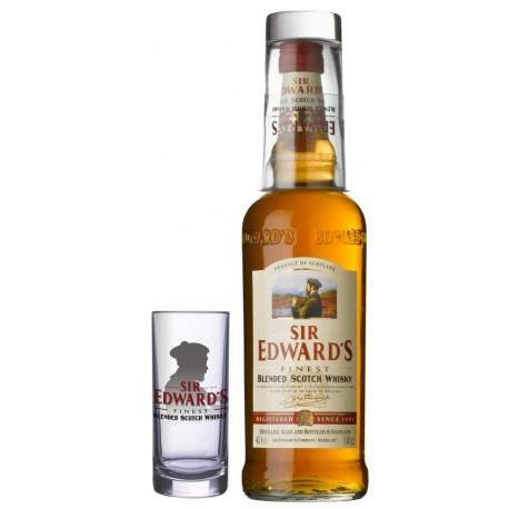 Viskijs SER Edwards + Glass 40  1 L